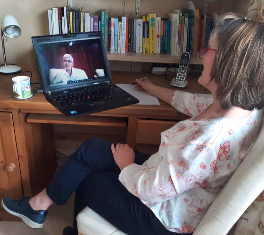 Jane Hanson Counselling Session via Zoom